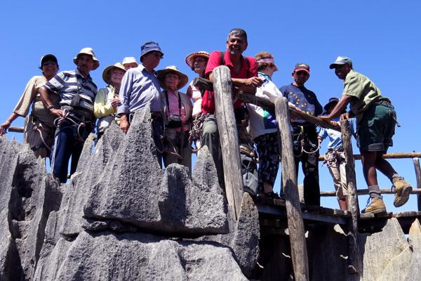 Peak of the Tsingy of Bemaraha