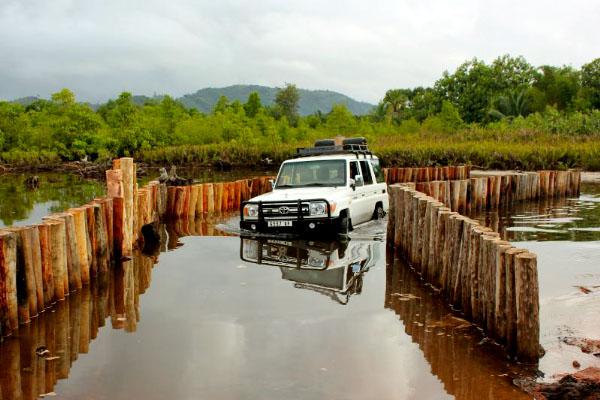 Road to Mananara National Park