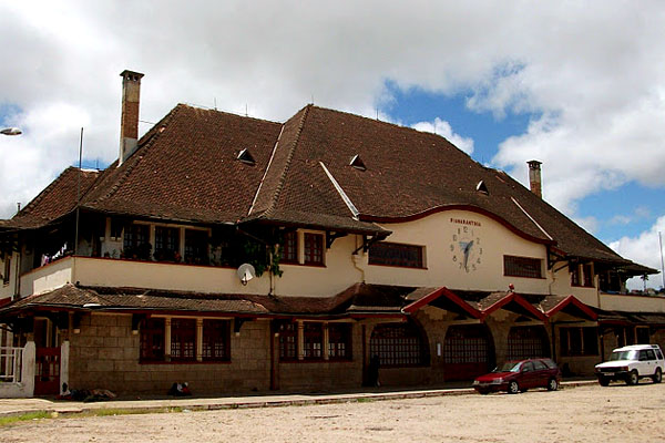 Train station Fianarantsoa Madagascar